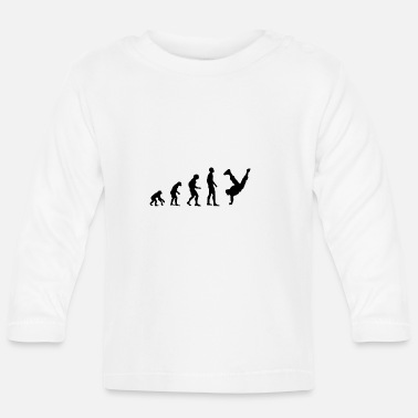 Breakdance breakdancer - Langærmet babyshirt