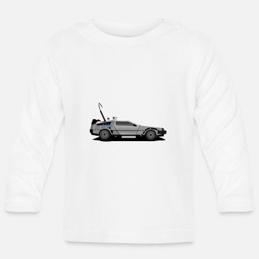 Future Delorean Back to the future - Baby Longsleeve Shirt