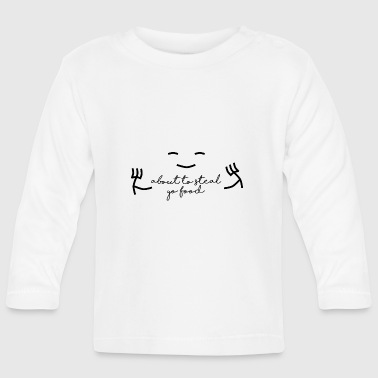Steal Stealing food - Baby Long Sleeve T-Shirt