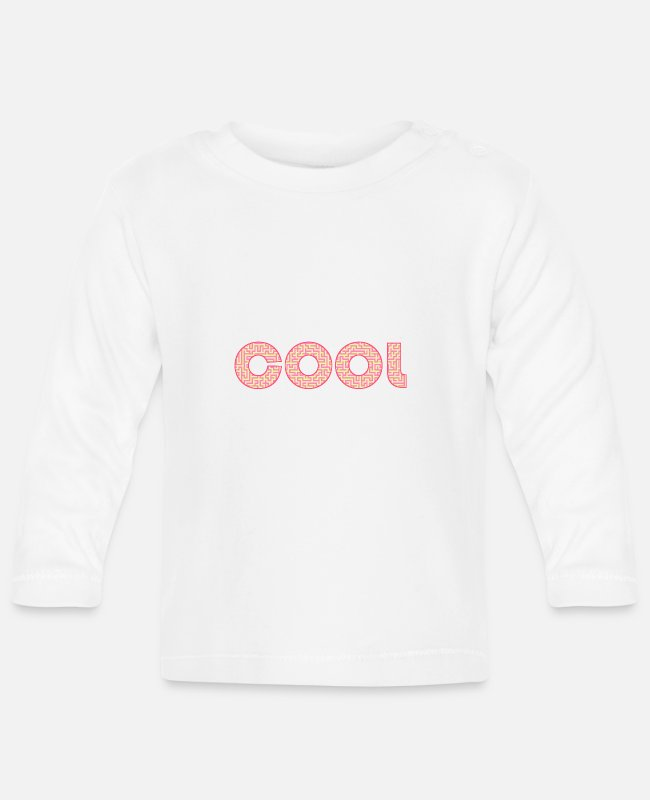 Super Baby Long-Sleeved Shirts - cool - Baby Longsleeve Shirt white