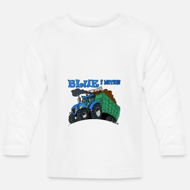 Motion Blue in motion - Baby Long Sleeve T-Shirt