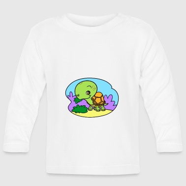Tiny Turtle - Baby Long Sleeve T-Shirt