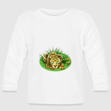 leopard cartoon - T-shirt