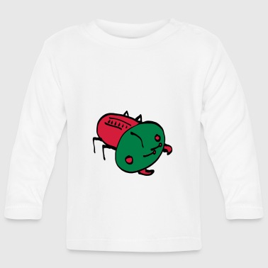 bug color - Baby Langarmshirt