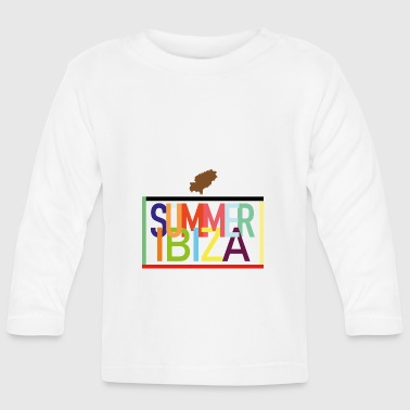 Summer Ibiza - Summer holidays Balearic Islands - Baby Long Sleeve T-Shirt