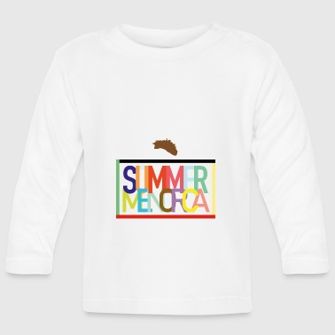 Summer Menorca - Summer holidays Balearic Islands - Baby Long Sleeve T-Shirt