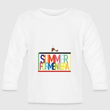 Summer Formentera - summer holiday Balearic Islands - Baby Long Sleeve T-Shirt