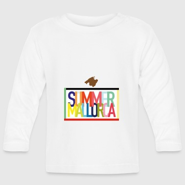 Summer Mallorca - Summer holidays Balearic Islands - Baby Long Sleeve T-Shirt