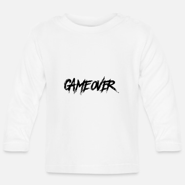 Gamer Game Over - Game End, Gamer Hatescreen - Langærmet babyshirt