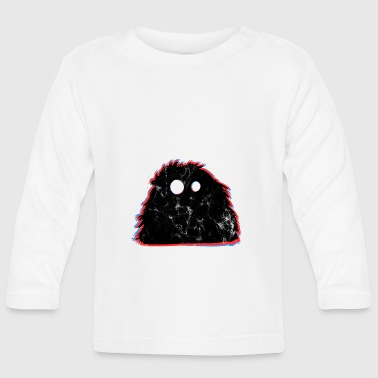 Cute monster witty - Baby Long Sleeve T-Shirt