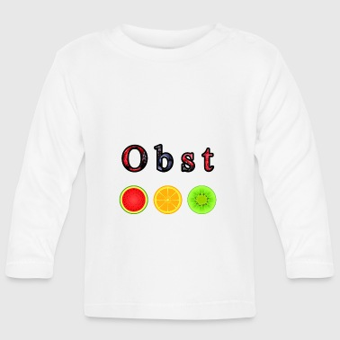 Fruit fruits - Baby Long Sleeve T-Shirt