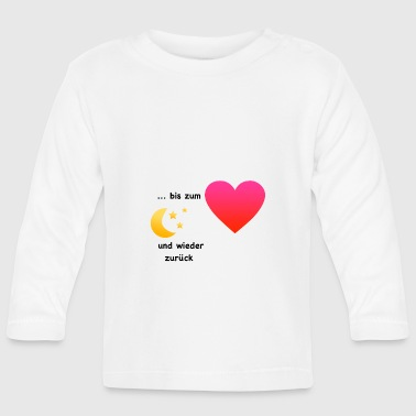 To the moon - Baby Long Sleeve T-Shirt