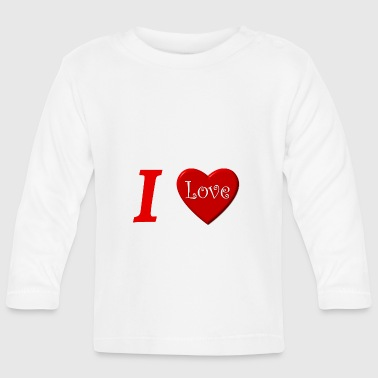 I love I love in Love - Baby Long Sleeve T-Shirt