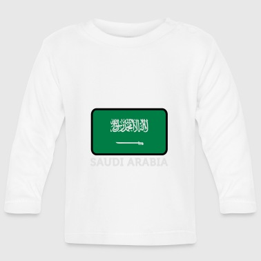 National Flag Of Saudi Arabia - Baby Long Sleeve T-Shirt