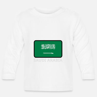 Saudi Arabia National Flag Of Saudi Arabia - Baby Long Sleeve T-Shirt