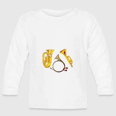 Wind instruments - Baby Long Sleeve T-Shirt