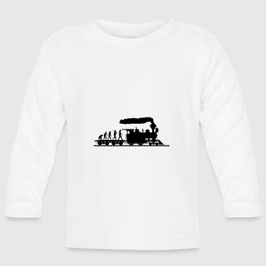 Treinen Evolution shirt · Railway · trein · Gift - T-shirt