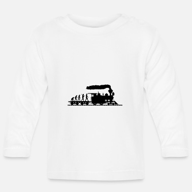 Trein Treinen Evolution shirt · Railway · trein · Gift - T-shirt
