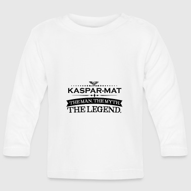 Mathias Mann mythos legende geschenk Kaspar Mathias - Camiseta manga larga bebé