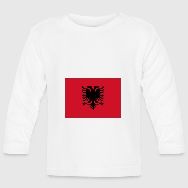 Albania flag - Baby Long Sleeve T-Shirt