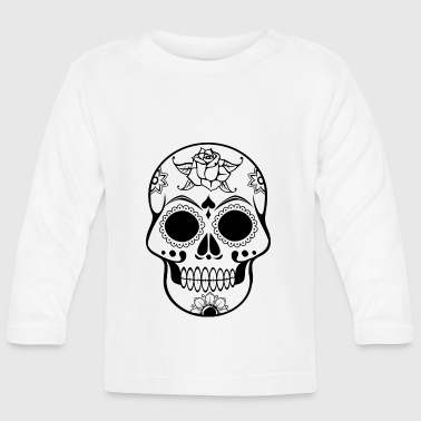 Skull Decorated - Baby Long Sleeve T-Shirt