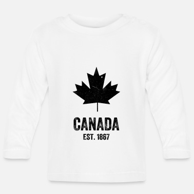 Established Canada Established 1867 - Baby Longsleeve Shirt