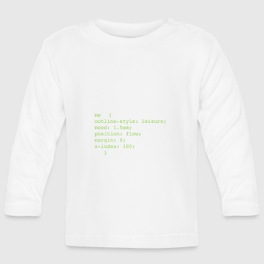 Css CSS - Baby Long Sleeve T-Shirt