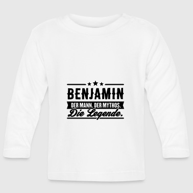 Man Myth Legend Benjamin - Baby Long Sleeve T-Shirt