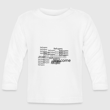 Refugees Welcome - Baby Long Sleeve T-Shirt