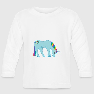 SWEET UNICORN COLLECTION - Langarmet baby-T-skjorte