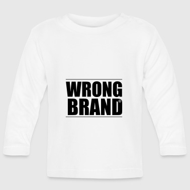 Wrong Brand: the ultimate brand parody - Baby Long Sleeve T-Shirt