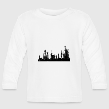 Oil refinery - Baby Long Sleeve T-Shirt