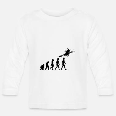 Witch witch witch witch broom witch magic magic4 - Baby Long Sleeve T-Shirt