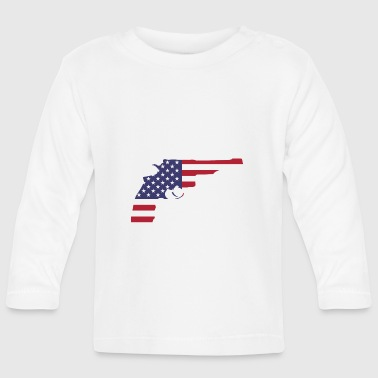 Revolver American flag - Baby Long Sleeve T-Shirt