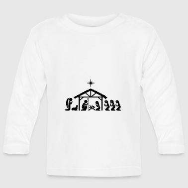 Nativity Scene - Baby Long Sleeve T-Shirt