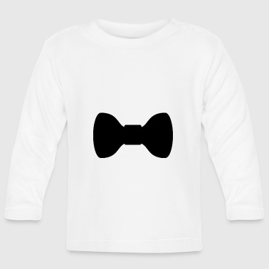 Bow tie - cool fly for the upmarket occasion - Baby Long Sleeve T-Shirt
