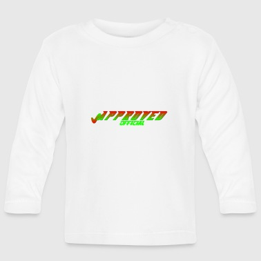 Official Brand Logo for APPROVED Official - Baby Long Sleeve T-Shirt