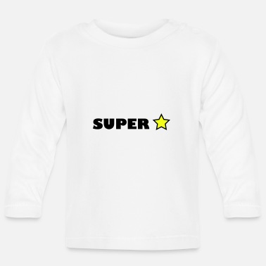 Superstar Superstar - Langærmet babyshirt