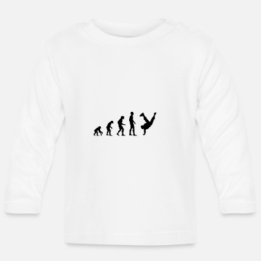 Breakdance breakdancer - T-shirt manches longues Bébé