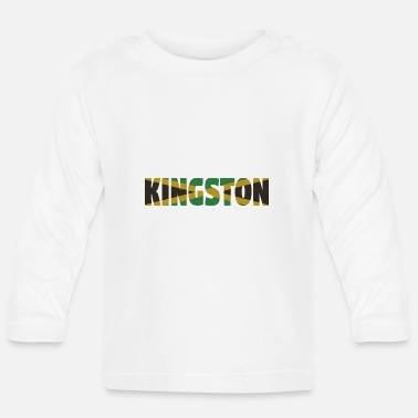 Kingston Jamaika - Baby Langarmshirt