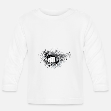 Punch Punch Rock - Camiseta de manga larga bebé