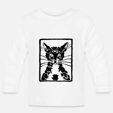 Black Cat black cat or black cat - Baby Longsleeve Shirt