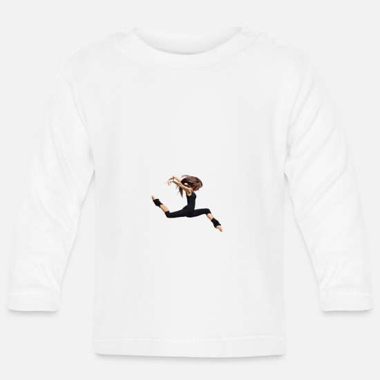 Dancer Baby Clothes - dancer - Baby Longsleeve Shirt white