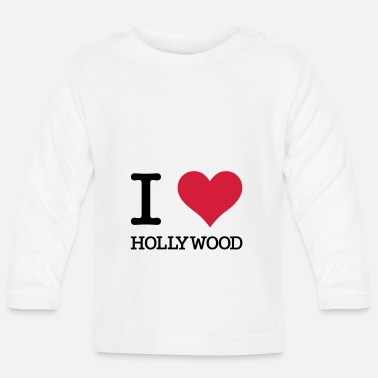Hollywood J'aime Hollywood - T-shirt manches longues Bébé