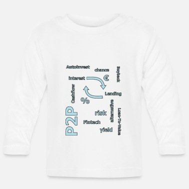 Person P2P - person to person credit - Baby Longsleeve Shirt