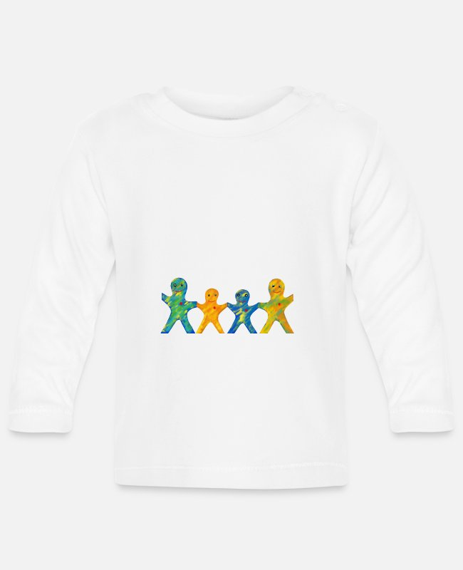 Family Trip Baby Long-Sleeved Shirts - family - Baby Longsleeve Shirt white