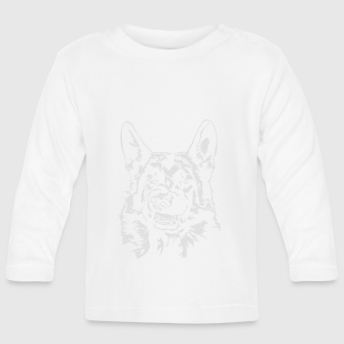 GERMAN SHEPHERD - German Shepherd bad - Baby Long Sleeve T-Shirt