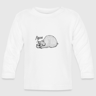 Papa bear - papa bear - Baby Long Sleeve T-Shirt
