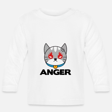 Angers Cat Anger - Baby Long Sleeve T-Shirt