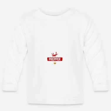 Pandemic We Surive by Prepping We Prep to Survive 2 - Baby Longsleeve Shirt